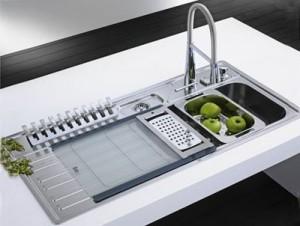 évier cuisine moderne